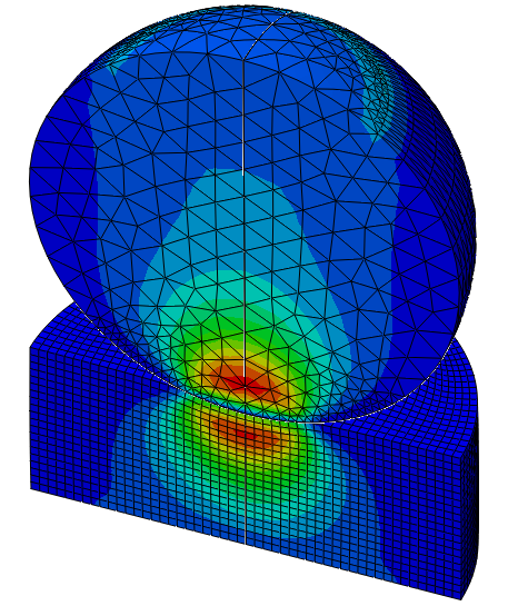 Advanced Contact with Abaqus