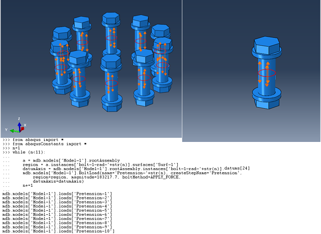 Abaqus Bolt Pretensioning Script Application.png