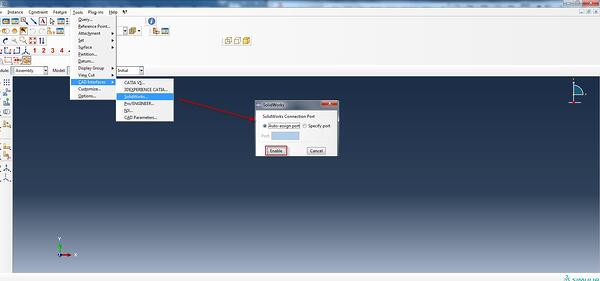 Abaqus_connect_interface