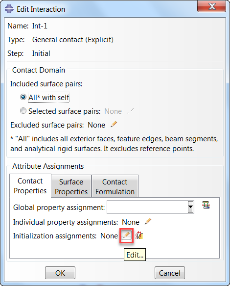 abaqus 2020_whats new_3_contact initialization assignment