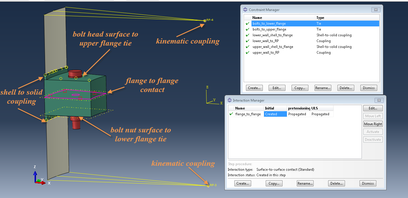 Modeling Bolted Connections with Abaqus FEA