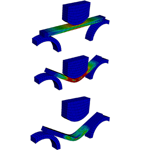 Abaqus Tutorial Plastic Deformation